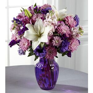 C17-5187 The FTD Shades of Purple Bouquet